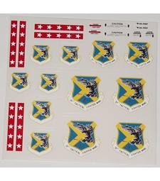 37th Tactical Wing decals