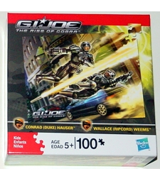 GI Joe: Rise of Cobra Duke & Ripcord puzzle