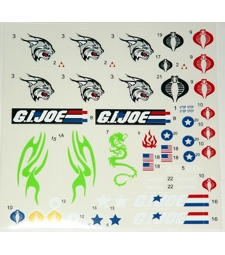Custom decal sheet  A