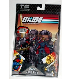 Destro (gold head) / Iron Grenadier comic 2 pack MOSC