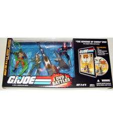 GI Joe DVD battle - Revenge of Cobra MISB