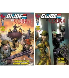 GI Joe vs Cobra GIJCC comic 2 pack