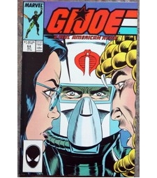 GI Joe Real American Hero #64 Marvel comic NM